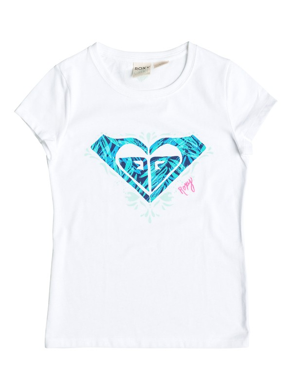 0 Girl's 2-6  REFRESH Short Sleeve Tee  RRF61556 Roxy