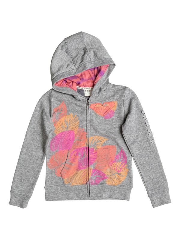 0 Girl's 2-6  SEAS THE DAY Zip Hoodie  RRF62006 Roxy