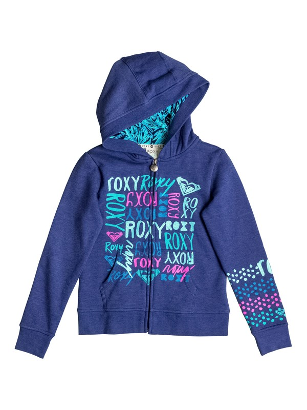 0 Girl's 2-6 TIME COAST Zip Hoodie  RRF62056 Roxy
