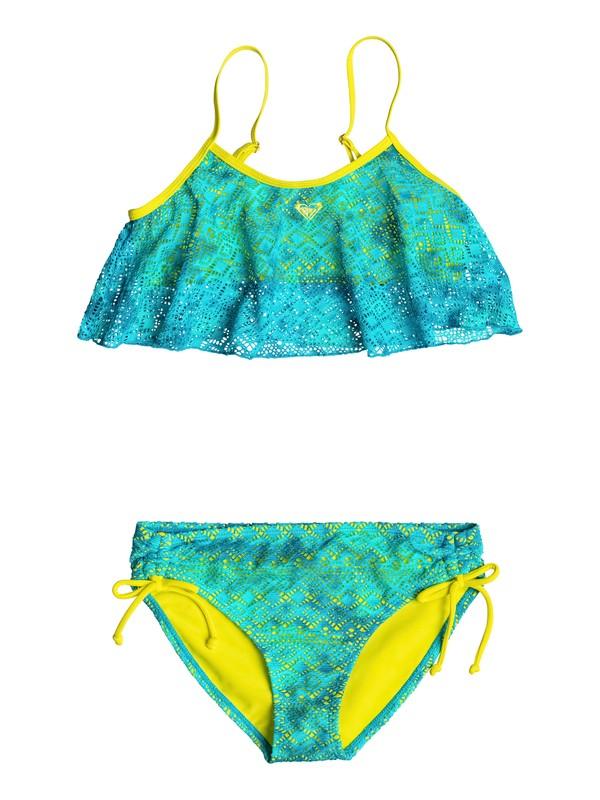 0 Girl's 7-14 Crochet Cutie Flutter Set  RRF68507 Roxy