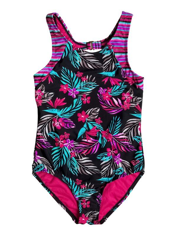 0 Girl's 7-14 Pop Trop One Piece Swimsuit  RRF68707 Roxy