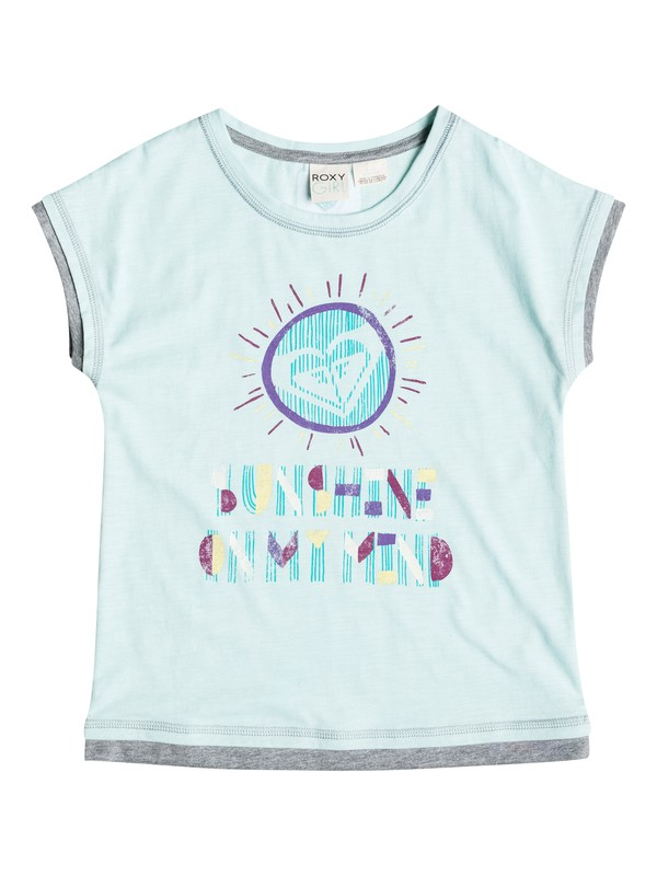 0 Girls 7-14 Big On My Mind T-Shirt  RRH51057 Roxy