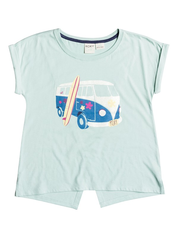 0 Girls 7-14 Big Road Trippin T-Shirt  RRH51097 Roxy