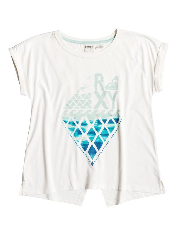 0 Girls 7-14 Big Sea T-Shirt  RRH51107 Roxy