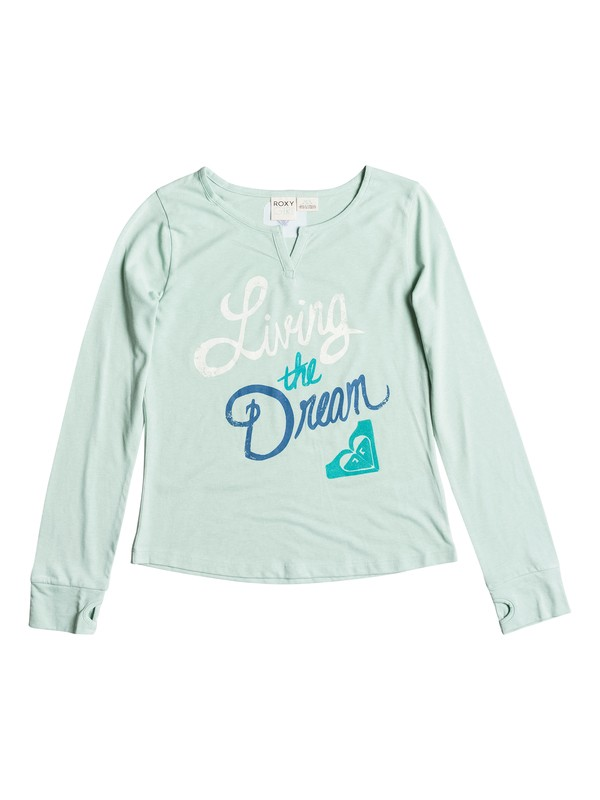 0 Girls 7-14 Big Living Dream T-Shirt  RRH51137 Roxy
