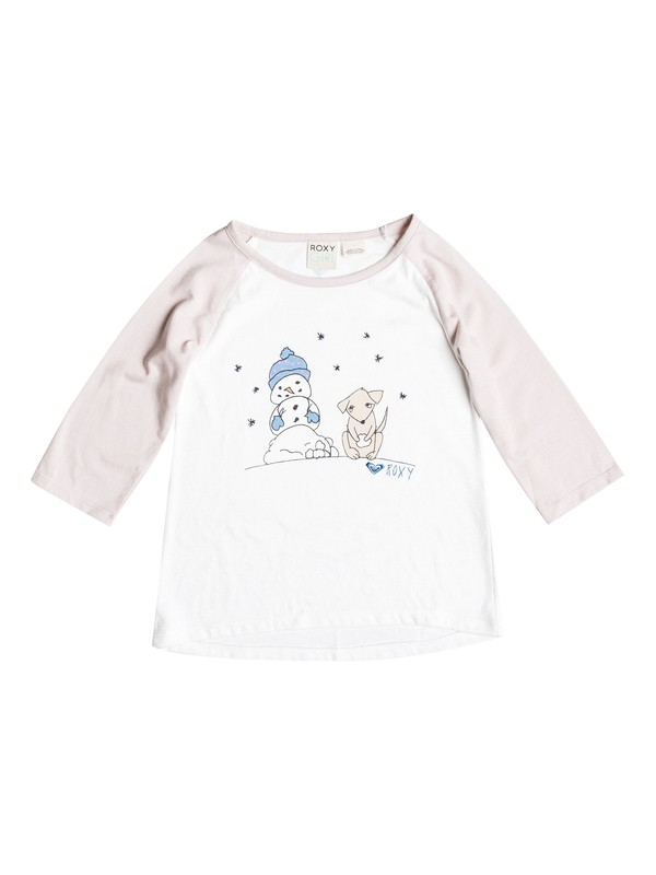0 Baby Snow Puppy T-Shirt  RRH51341 Roxy