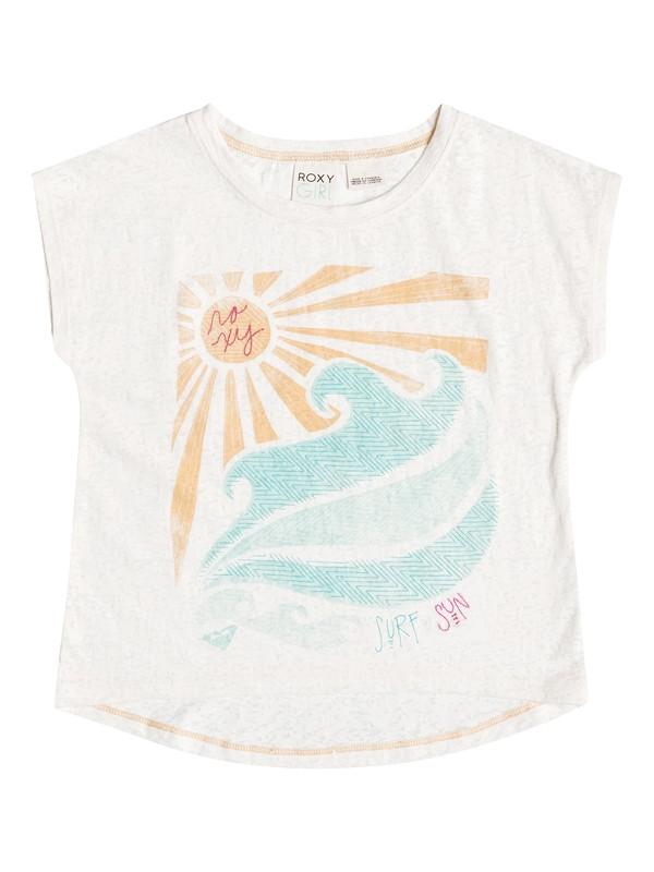 0 Girls 2-6 Surf Sun T-Shirt  RRH51356 Roxy