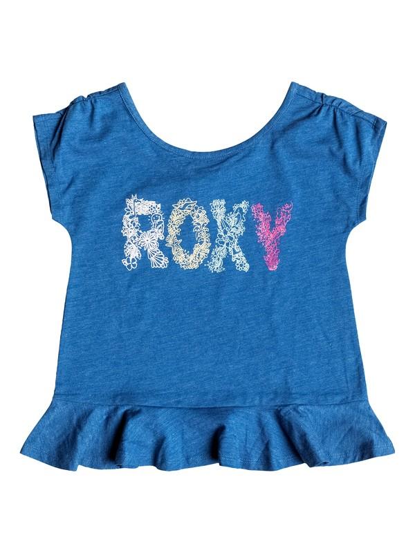 0 Girls 2-6 Sea Girl T-Shirt  RRH51376 Roxy