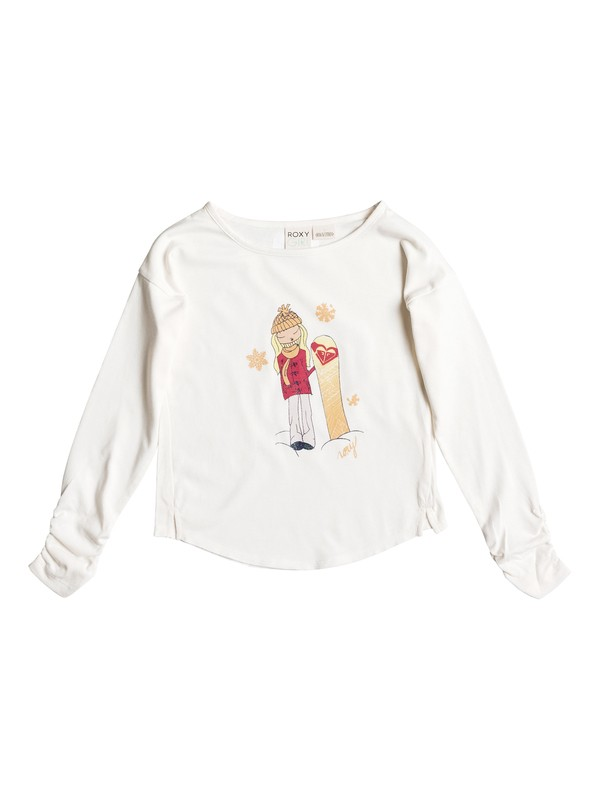 0 Girls 2-6 Boarder Girl T-Shirt  RRH51406 Roxy