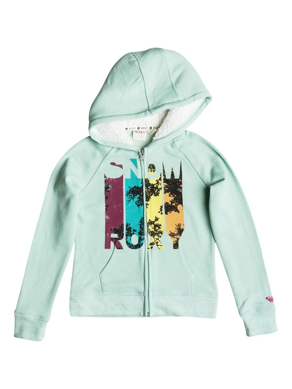 0 Girls 7-14 Big Let It Snow Zip-Up Hoodie  RRH52197 Roxy