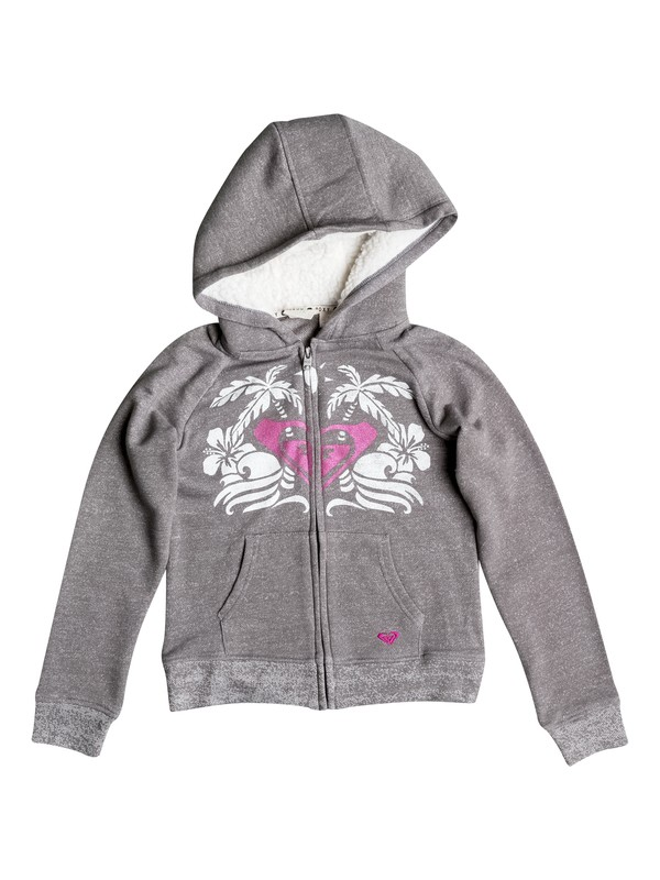 0 Girls 7-14 Big Mirage Zip-Up Hoodie  RRH52207 Roxy