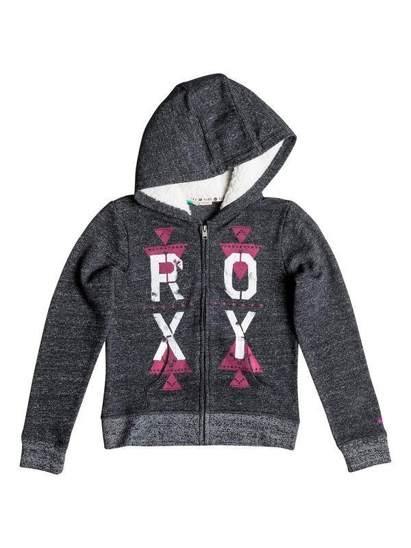 0 Girls 7-14 Big Brisk Daze Zip-Up Hoodie  RRH52217 Roxy