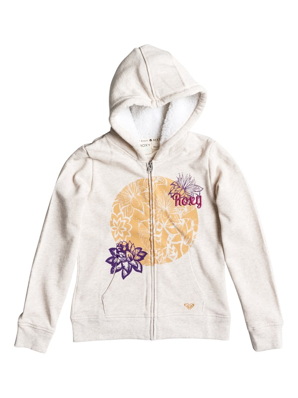 0 Girls 7-14 Big Breezy Zip-Up Hoodie  RRH52227 Roxy