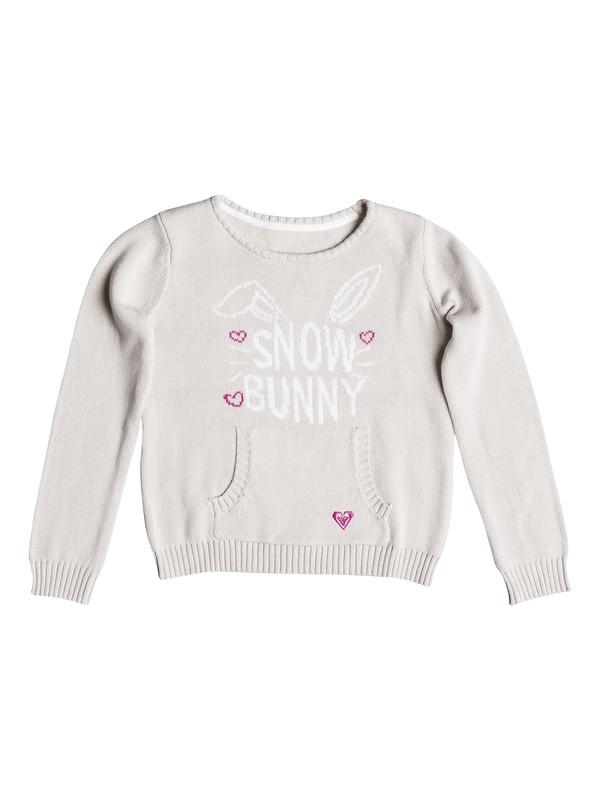 0 Girls 2-6 Snow Bunny Sweater  RRH56146 Roxy