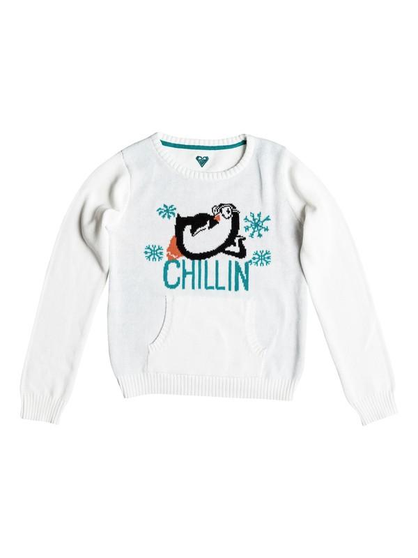 0 Girls 2-6 Chillin Sweater  RRH56156 Roxy