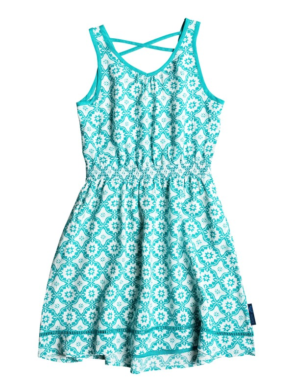 0 Girls 7-14 Big Pleasant Peasant Dress  RRH58077 Roxy
