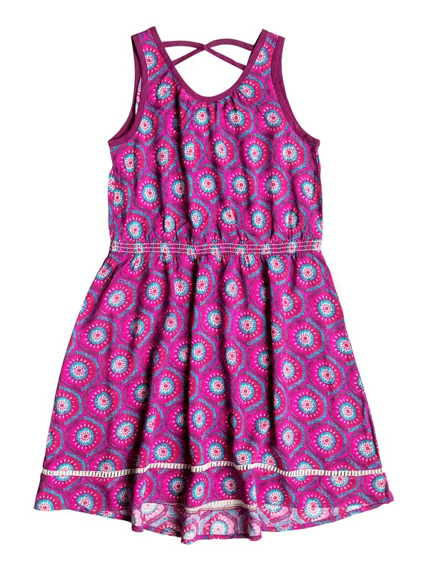 0 Girls 7-14 Big Pretty Peasant Dress  RRH58237 Roxy