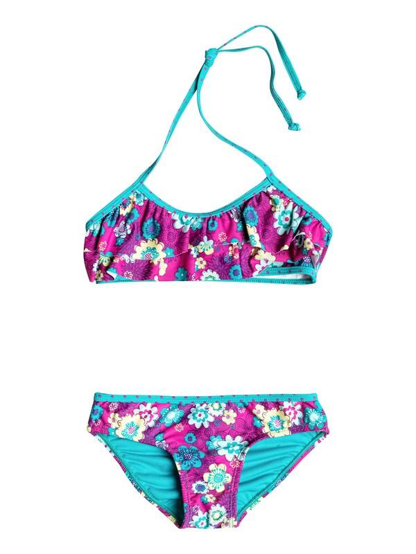 0 Baby Floral Double Flutter Bikini  RRH58511 Roxy