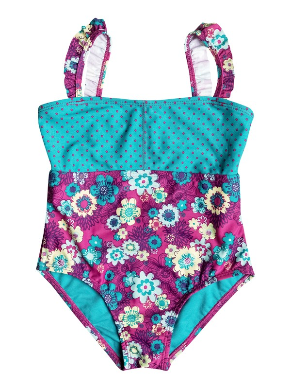 0 Girls 2-6 Sweet Floral One-Piece Swimsuit  RRH58526 Roxy