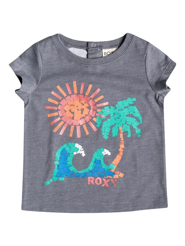 0 Girl's 2-6 Painted Beach Tee  RRM51196 Roxy