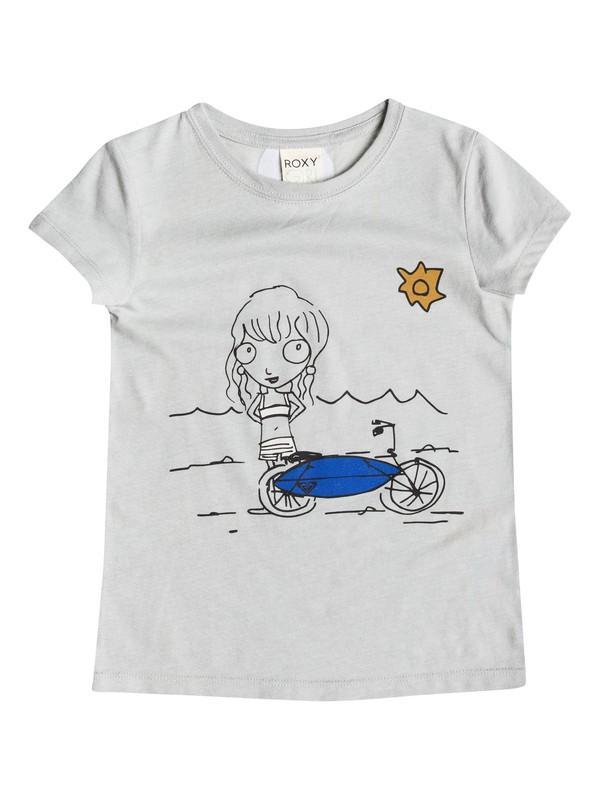 0 Girl's 2-6 Bikini Beach Tee  RRM51216 Roxy