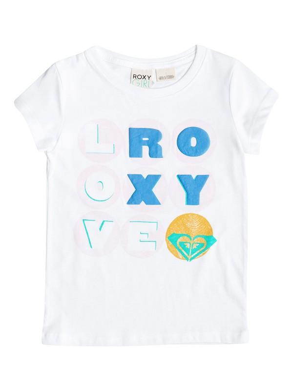 0 Girl's 2-7 Love Roxy Tee  RRM51246 Roxy