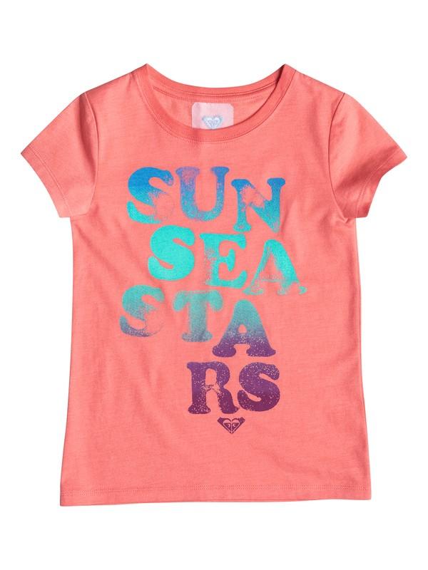0 Baby Sun and Stars Tee  RRM51291 Roxy
