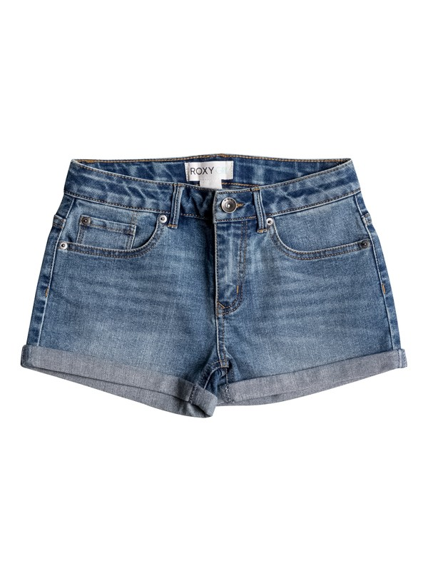 0 Girl's 7-14 CRUSH Shorts  RRM55027 Roxy