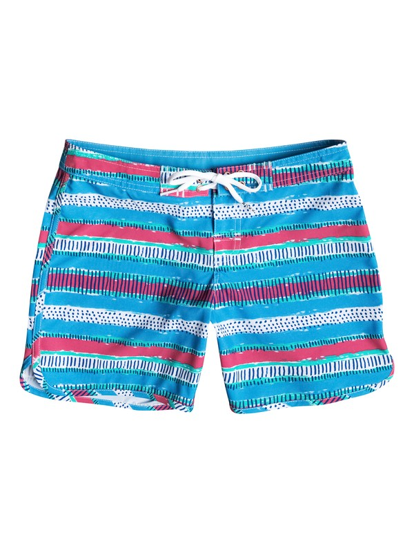 0 Girl's 7-14 All Mixed Up 4-Way Stretch Boardshorts  RRM55107 Roxy