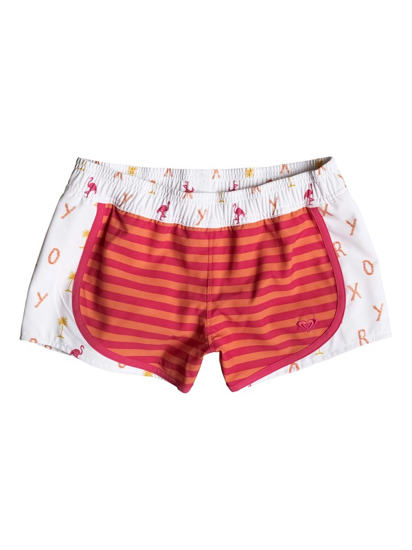 0 Girl's 7-14 Flamingo Beach Boardshorts  RRM55147 Roxy