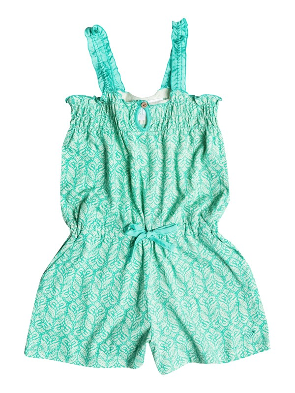 0 Girl's 2-6 Palm Tree Romper  RRM58186 Roxy