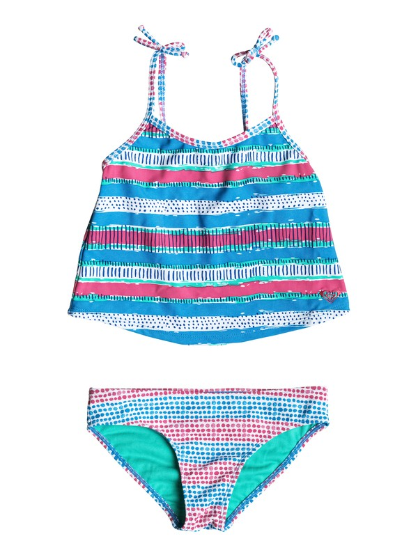 0 Girl's 2-6 All Mixed Up Tankini Set  RRM58876 Roxy