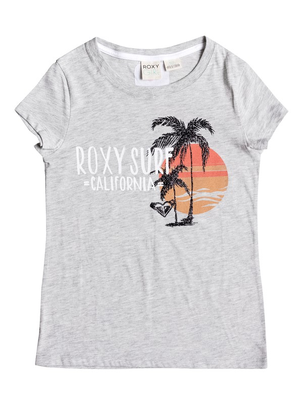 0 Baby Cali Beach Short Sleeve Tee  RRM61001 Roxy