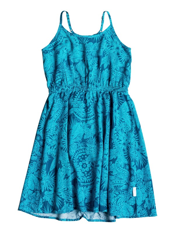 0 Girls 7-14 Tropical Palm Dress  RRM68127 Roxy