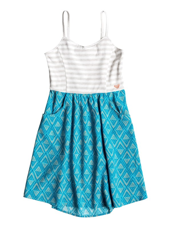 0 Girls 7-14 Geo Island Dress  RRM68147 Roxy
