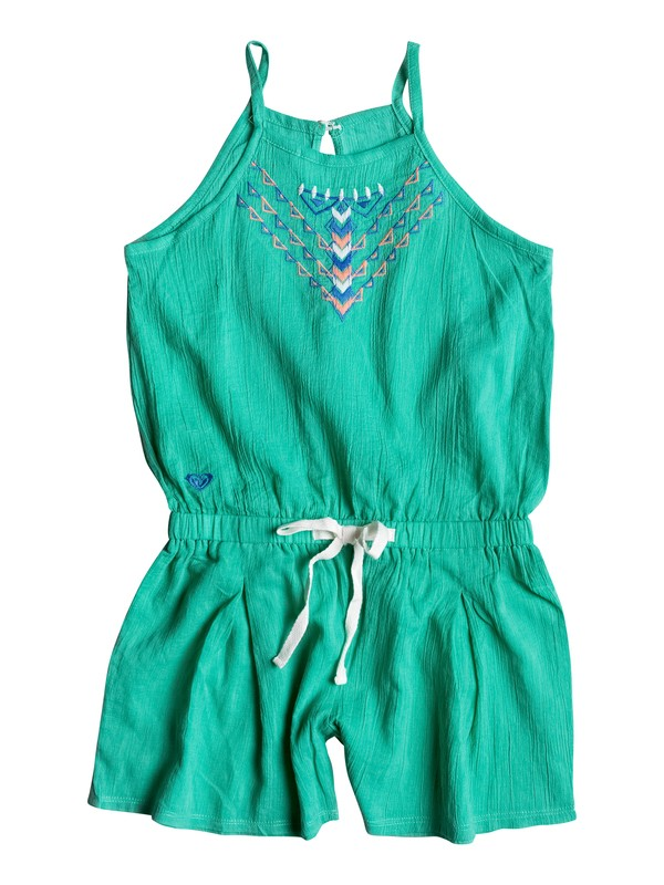 0 Girls 7-14 Summer Rain Romper  RRM68297 Roxy