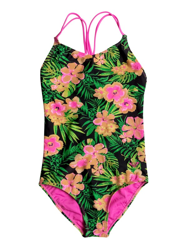 0 Girls 2-6 In The Tropics One Piece Swimsuit  RRM68756 Roxy