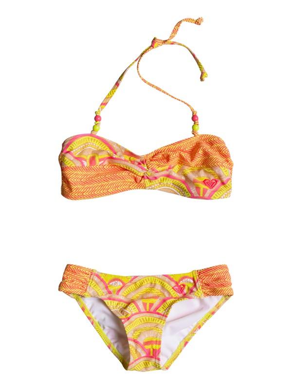 0 Girls 2-6 Sunrise Summer Bandeau Set  RRM68856 Roxy