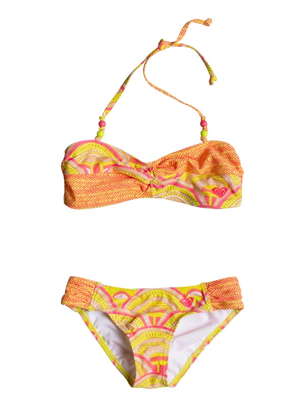 0 Girls 7-14 Sunrise Summer Bandeau Set  RRM68857 Roxy