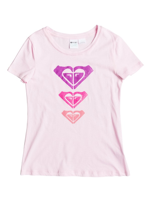 0 Girl's 7-14 Trio Crew Neck Tee  RRS51097 Roxy
