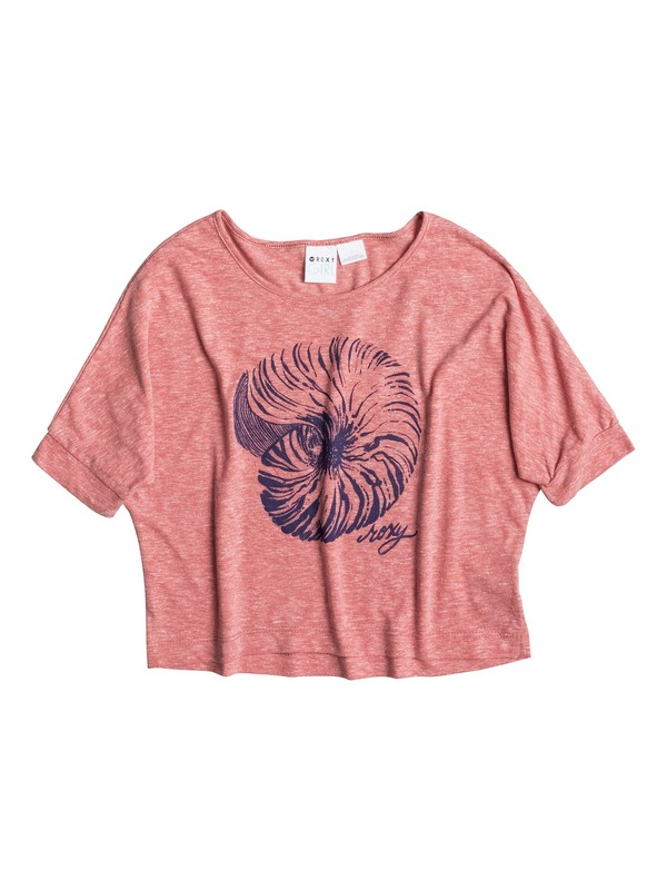 0 Girl's 7-14 Natilus Doleman Tee  RRS51187 Roxy