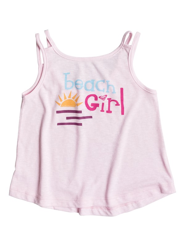 0 Girl's 2-6 Beach Girl Tank  RRS51526 Roxy