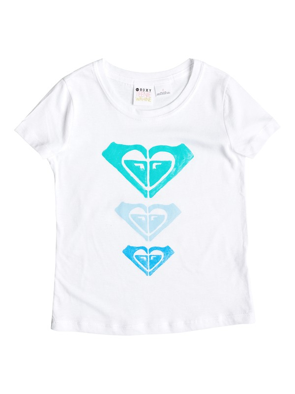 0 Girl's 2-6 Star's and Lines Tee  RRS51596 Roxy