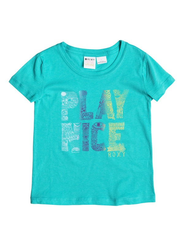 0 Girl's 2-6 Play Nice Tee  RRS51606 Roxy