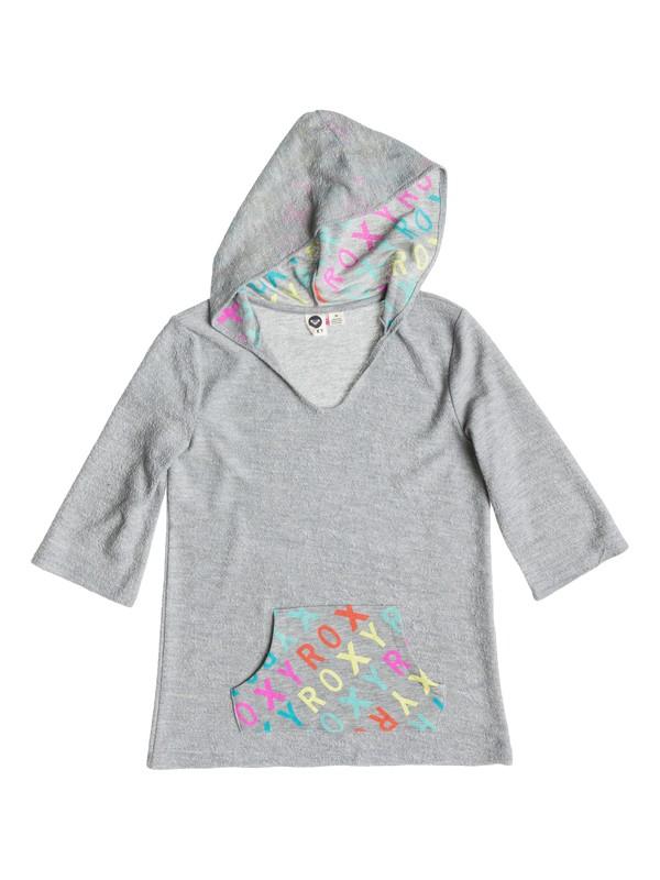0 Girl's 7-14 Roxy Logo Poncho  RRS51717 Roxy