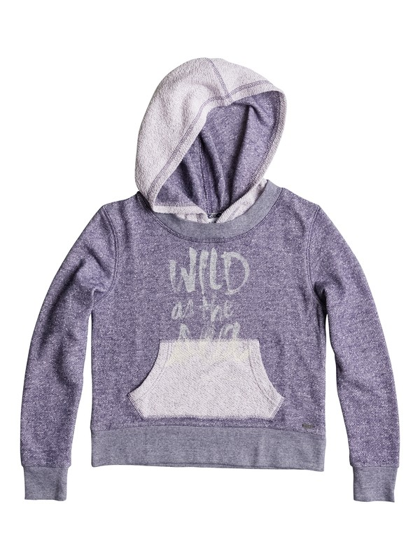 0 Girl's 7-14 Wild As The Sea Hoodie  RRS52287 Roxy
