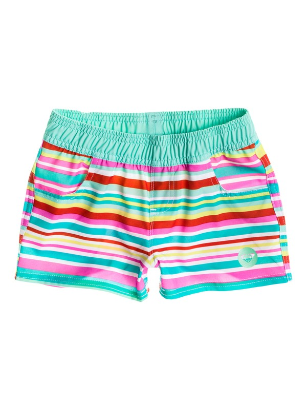 "0 Girl's 2-6  Surfs Up 2"" Inseam Boardshort  RRS55226 Roxy"