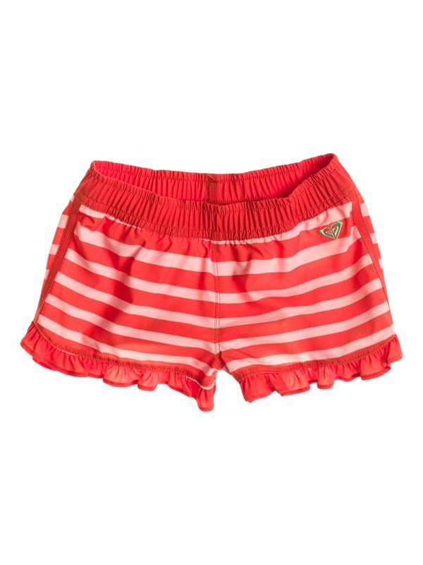"0 Girl's 2-6 All Aboard 2"" Inseam Boardshort  RRS55246 Roxy"