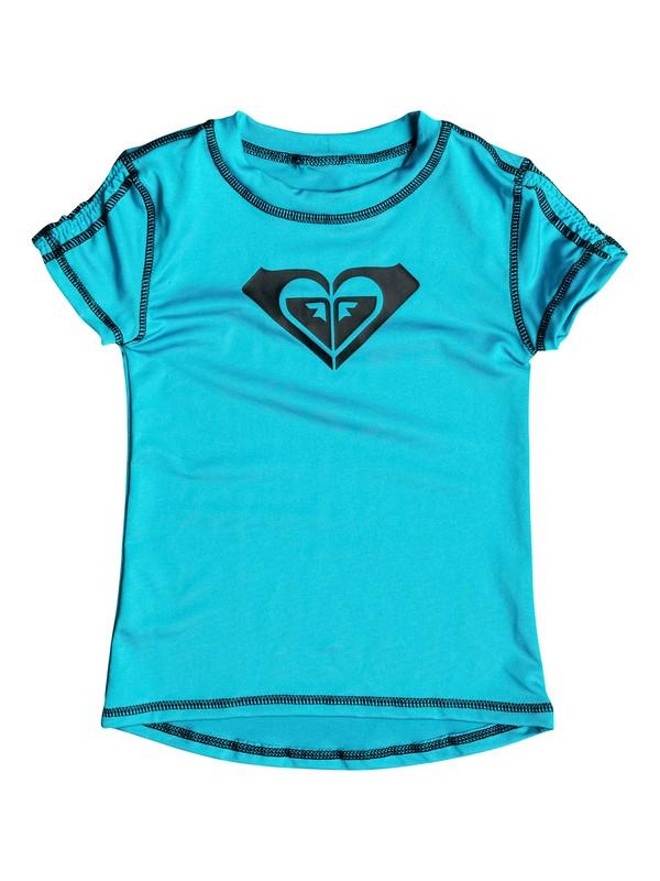 0 Camiseta de Licra Core - Niñas 7 -14  RRX50177 Roxy