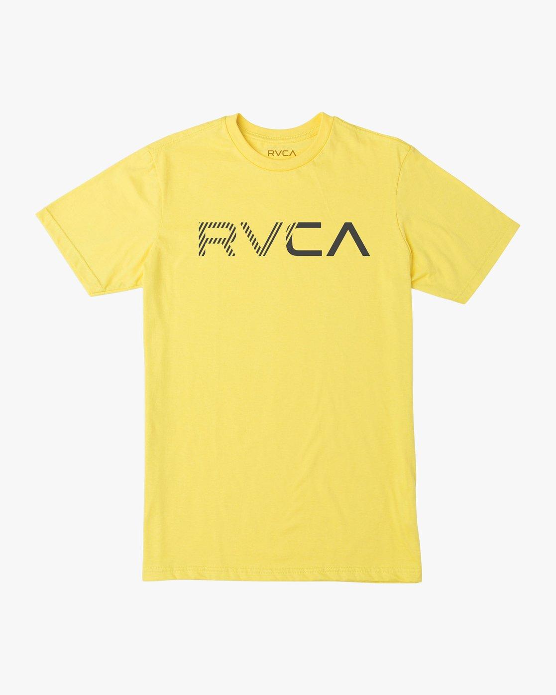 0 Boy's Blinded T-Shirt Yellow B401TRBL RVCA